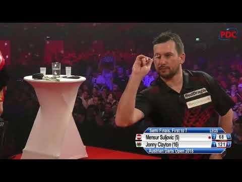 Suljovic vs Clayton. Austrian Darts Open. 2018