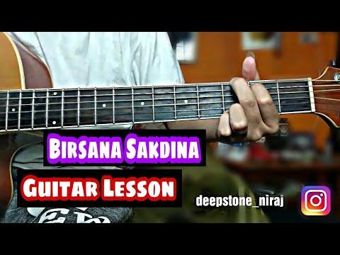 Birsana Sakdina - Buds Band Guitar Lesson