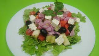 Греческий салат Лёгкий и свежий