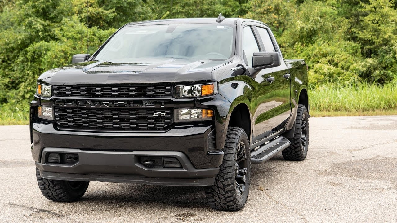 2020 Chevy Silverado (Black) Vehicle Profile - YouTube