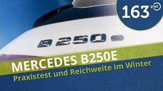 Mercedes B250e   Test   Reichweite   Aufladen   Ausstattung    Review 4k