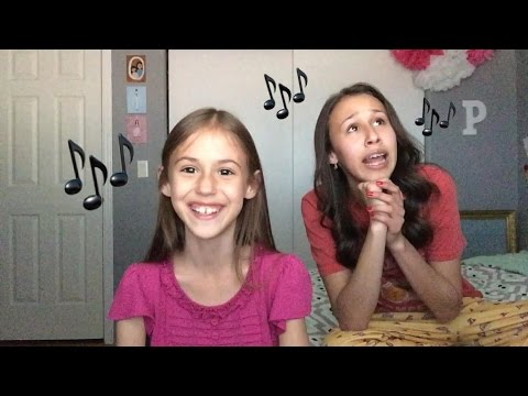 I Feel Pretty - West Side Story | A Cappella Cover by Presley Noelle (9) & Brooklyn Noelle (16)