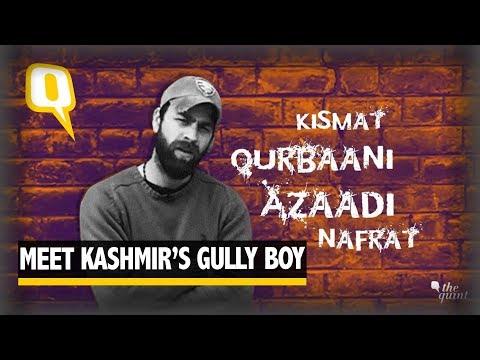 Meet Kashmir's Gully Boy: Rapper with a Cause | The Quint
