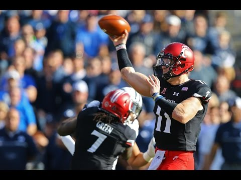 2016 American Football Highlights - BYU 20, Cincinnati 3
