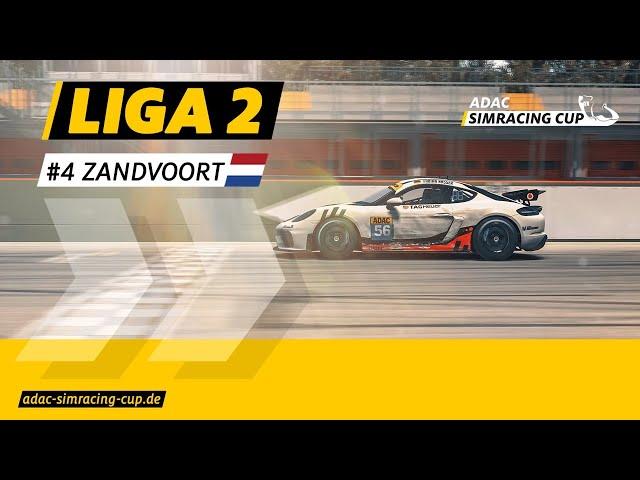 ADAC SimRacing Cup Liga 2 - Zandvoort - Rennen 2