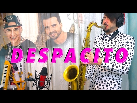 DESPACITO - Luis Fonsi, Daddy Yankee (Saxophone Cover)