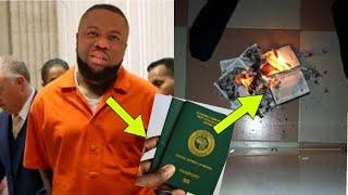 Hushpuppi Destroy His Nigeria Passport To FBI & Dubai Police   Davido & Burna boy