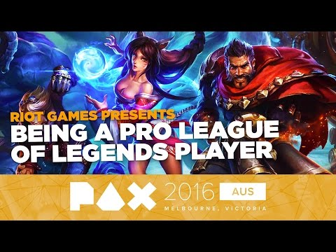 RIOT Games Presents: Becoming a Professional eSports Player