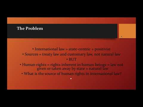 ICNC Webinar: Can People Power Movements Strengthen International Human Rights Law