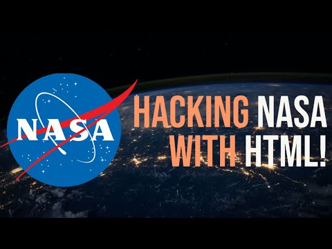 Hacking NASA With HTML (watch Before It Is Deleted)