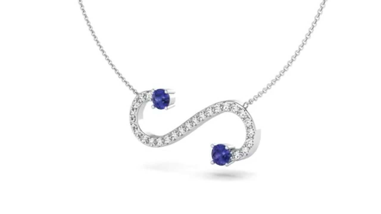 Infinity Necklace Spacesmackcom 3D CAD JEWELRY DESIGNS YouTube