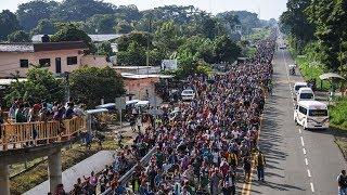 Выборы в США 2018 - караван мигрантов - беженцев движется через Мексику чтобы поджечь Белый Дом