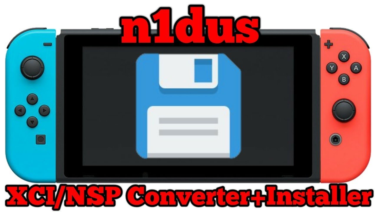 n1dus | XCI zu NSP Converter+Installer | Nintendo Switch Homebrew  [Deutsch/German]