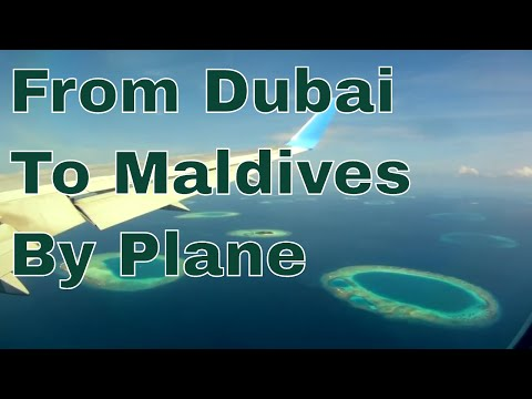 ✈ From Dubai To Maldives By Plane ✈
