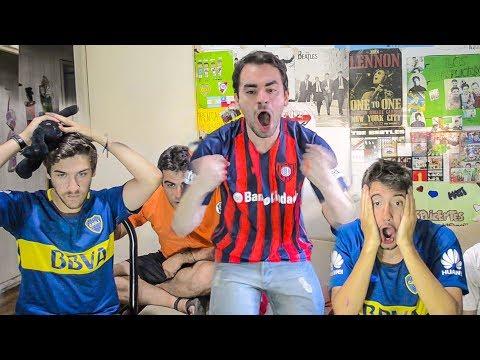 San Lorenzo vs Boca | Superliga 2018 | Reacciones de Amigos
