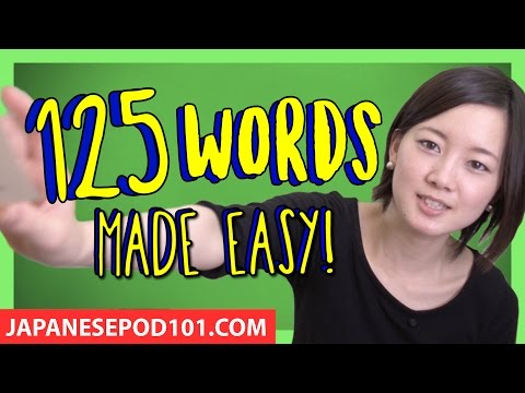 Learn 125 Intermediate Japanese Words with Risa! Japanese Vocabulary