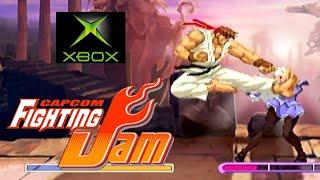 Capcom Fighting Jam playthrough (Xbox)