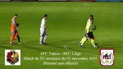 AFC Tubize - RFC Liège (Résumé non officiel)