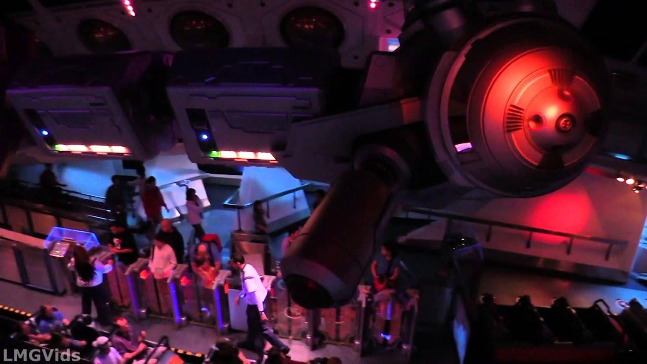 Space Mountain Disneyland Ride (Full Complete Ride Through ...