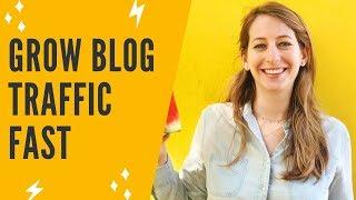 HOW TO GROW BLOG TRAFFIC FAST: Increase Blog Traffic With Traffic Takeoff - Tamara Testimonial