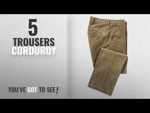 Top 10 Trousers Corduroy [2018]: Samuel Windsor Men's Jumbo 8-Wale Flat-Front 100% Cotton Cord