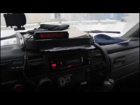 Газель. Рейс Вологда - Коломна - Вологда. 24.12.часть 2 Добрался до дома и сразу в работу.
