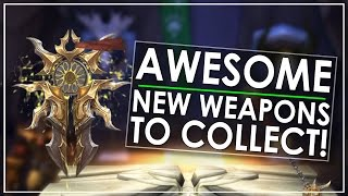 All 36 New Artifact Weapon Skins in Patch 7.2 - Now With Flails & Slingbows!