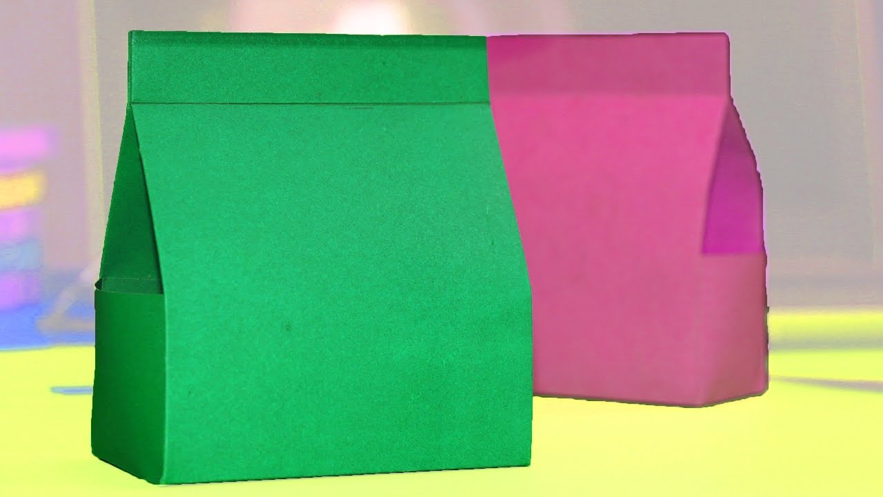 Origami Bag Tutorial How To Make Mini Paper