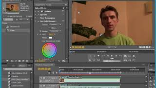 Adobe Premiere Pro - регулювання балансу білого