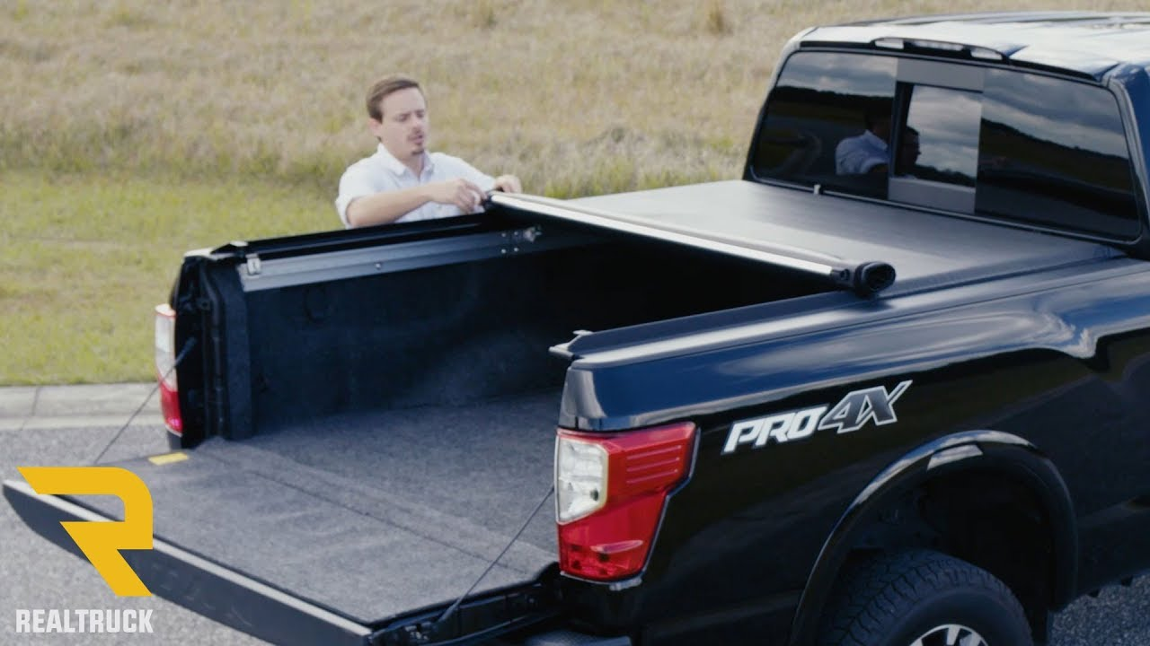 Amazing Access LiteRider Tonneau Cover Fast Facts On A 2017 Nissan Titan