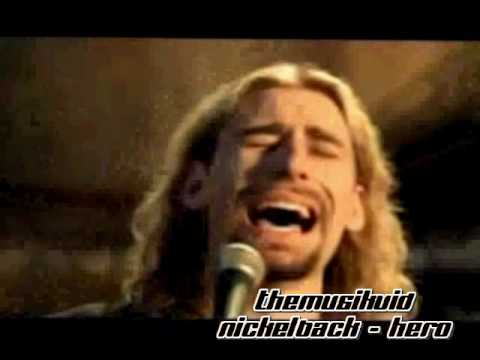 Nickelback - hero official music video with lyrics