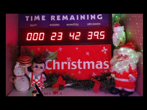 Countdown To Christmas Clock.Live Christmas Countdown Clock