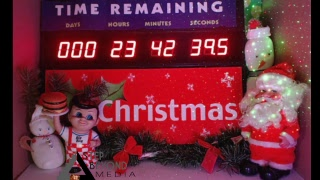 Live Christmas Countdown Clock