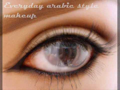 everyday simple arabic eye makeup  youtube