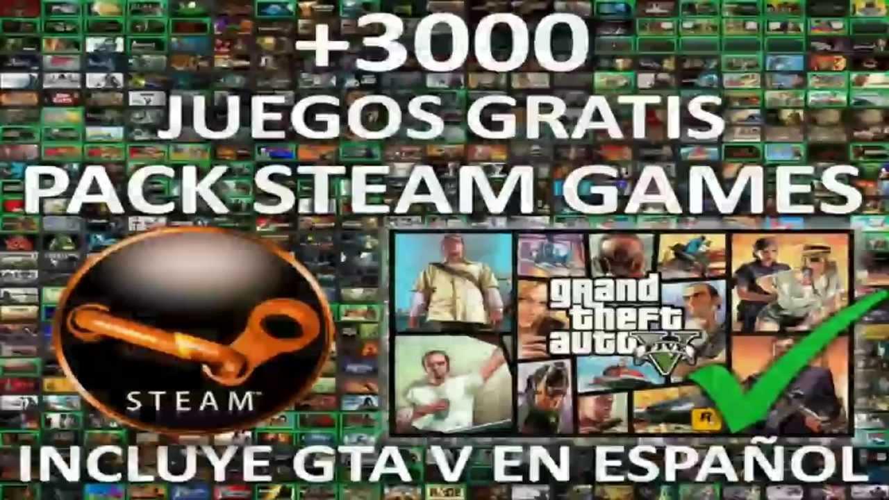 Pack Steam 3000 Juegos Incluye Gta V Para Pc En Espanol 2018 Youtube