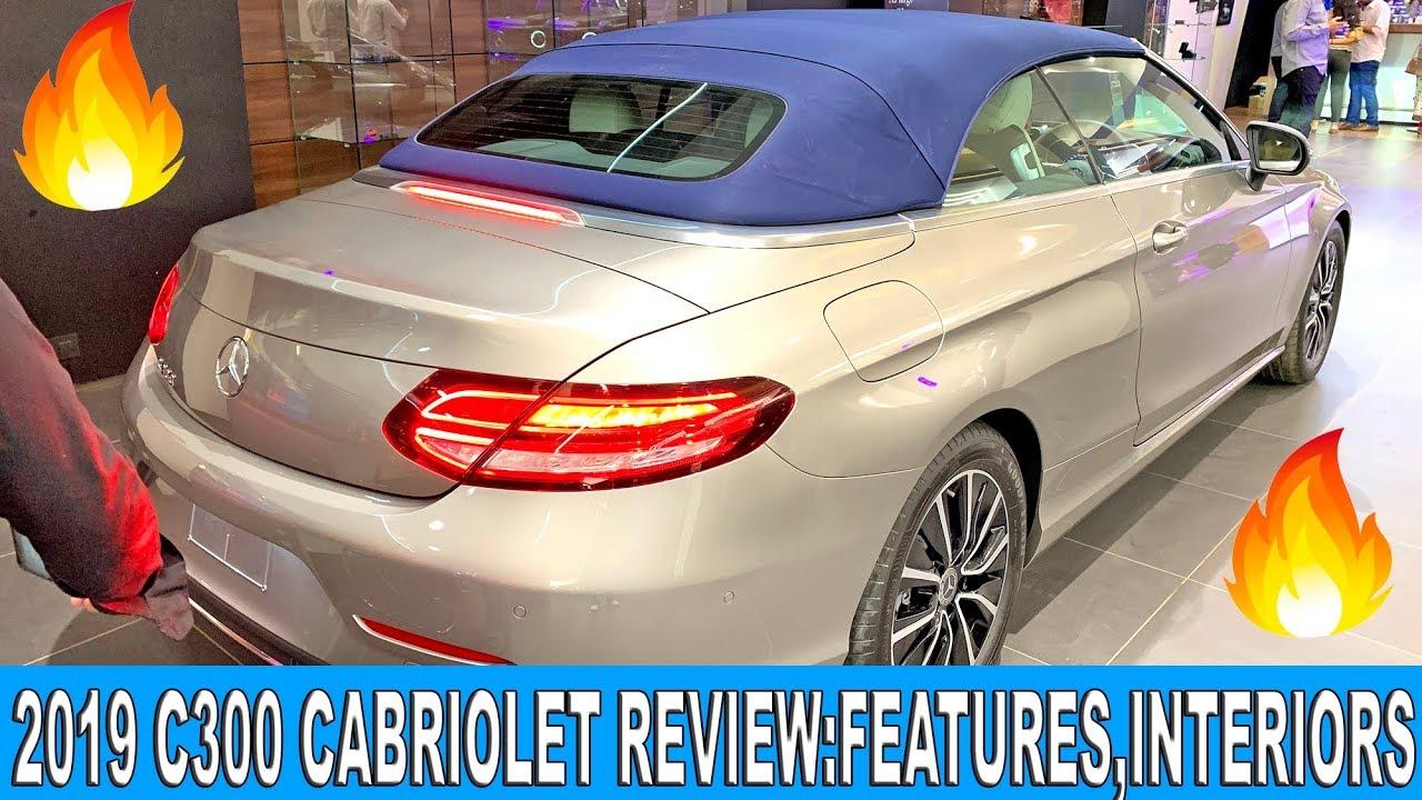 2019 Mercedes C Cabriolet Review C300 Cabriolet Price Features Interiors India Youtube