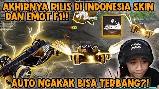 AKHIRNYA RILIS SKIN DAN EMOTE F1!!! PUNYA SAYAP AUTO TERBANG!!!