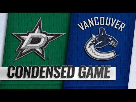 12/01/18 Condensed Game: Stars @ Canucks