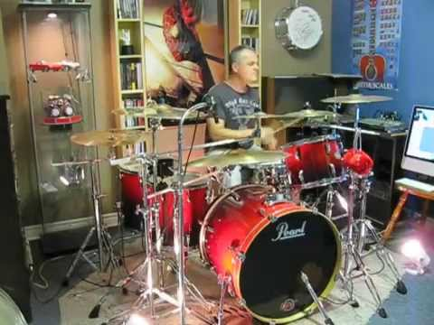 80's Retro Mix - Various Artists - Drum Cover By Domenic Nardone