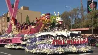 Happy New Year & Pasadena  Rose Parade Jan,1. 2015