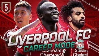 FIFA 19 LIVERPOOL CAREER MODE #5 - LIVERPOOLS BEST TALENT ON DISPLAY!