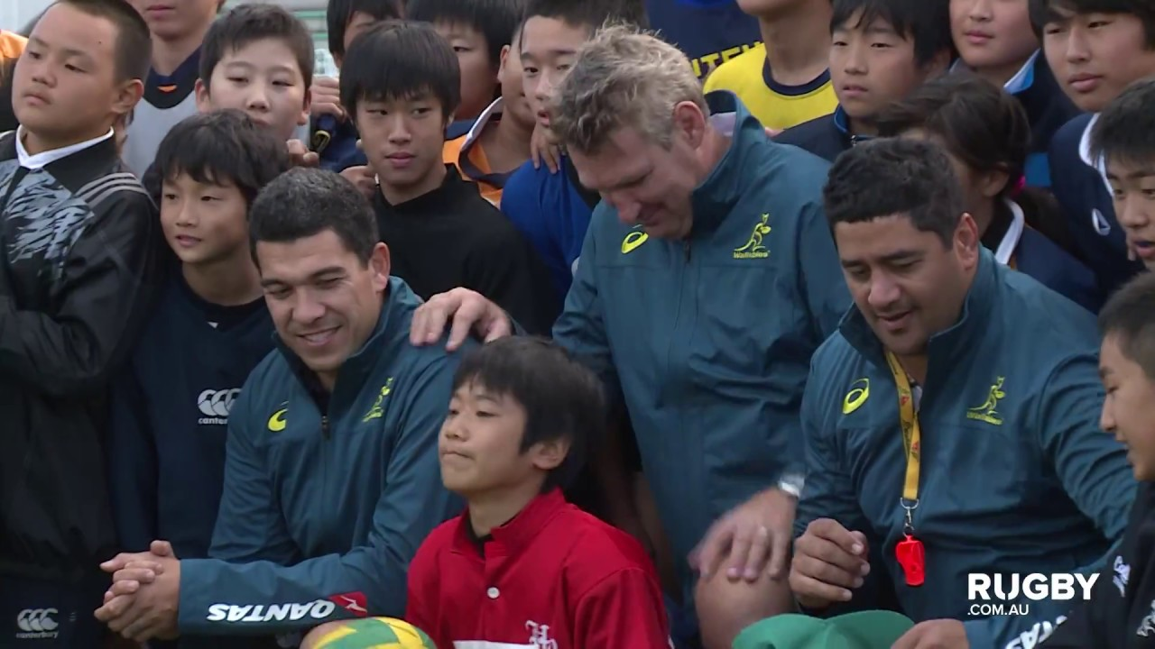 Classic Wallabies trio touch down in Sapporo