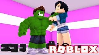 SOFRI BULLYING NA ACADEMIA!!! - ROBLOX (Roblox Gym)