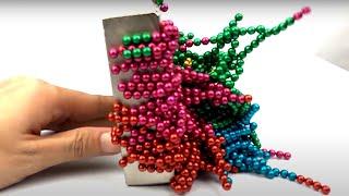 EGG VS Monster Magnets in Slow Motion | Magnetic Balls VS Monster Magnets