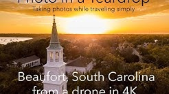 Beaufort, South Carolina from a drone in 4K!