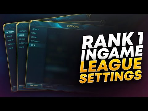 Download 4 Times Rank 1 Player's Settings & Hotkeys   League of Legends
