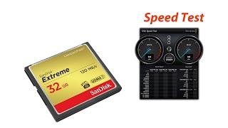 SanDisk Extreme 32GB CompactFlash/CF Memory Card UDMA 7 120MB/s 800x - Blackmagic Speed Test