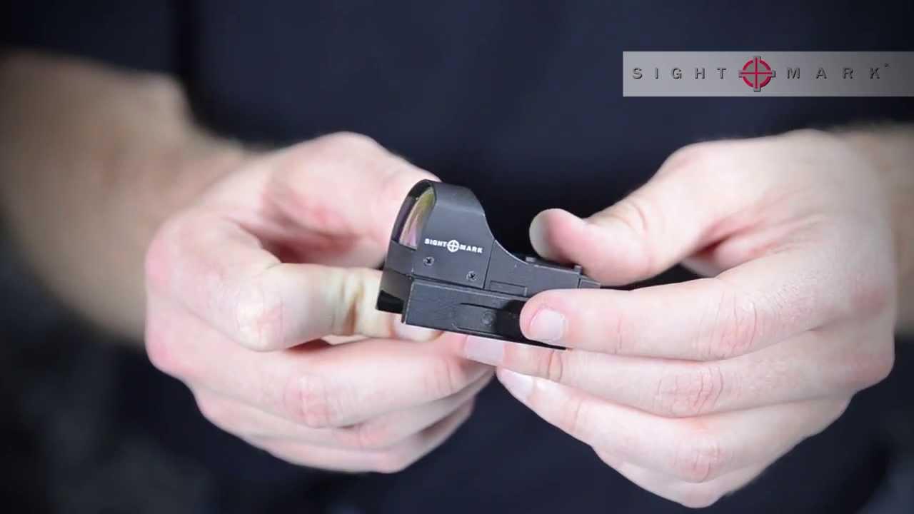 коллиматорный прицел sm14000 инструкция по прицелке