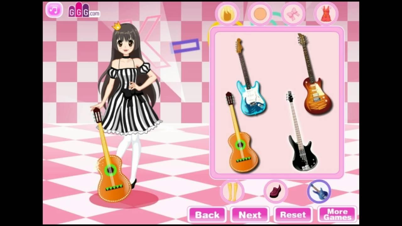 K-ON Dress Up Fashion - Y8.com Online Games by malditha