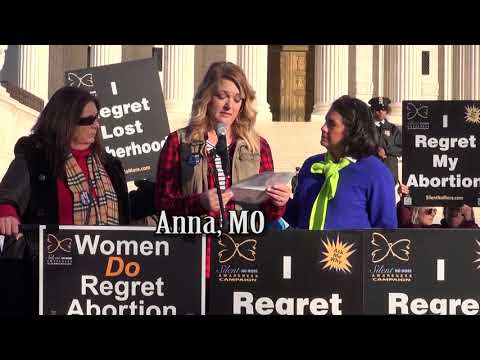 Anna's 2018 March for Life Testimony